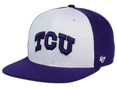 Texas Christian Horned Frogs '47 NCAA Backboard '47 CAPTAIN Snapback Cap