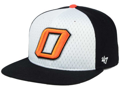 Oklahoma State Cowboys '47 NCAA Backboard '47 CAPTAIN Snapback Cap