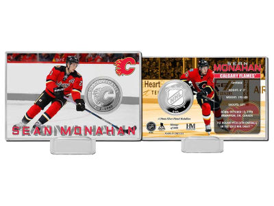 Calgary Flames Sean Monahan Player Coin Card