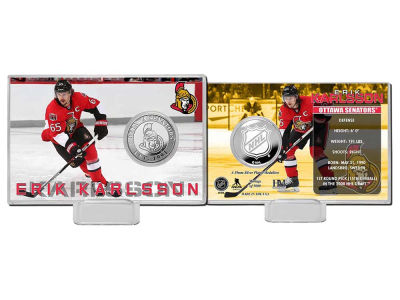 Ottawa Senators Erik Karlsson Player Coin Card