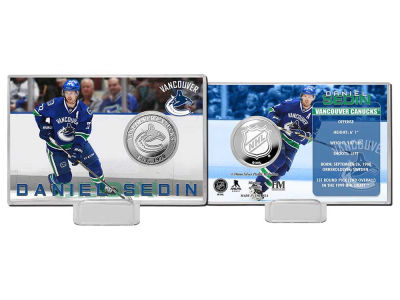Vancouver Canucks Daniel Sedin Highland Mint Player Coin Card