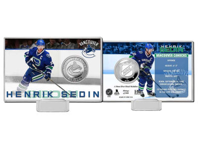 Vancouver Canucks Henrik Sedin Highland Mint Player Coin Card