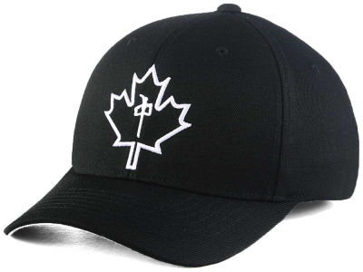 Red Dragon Skate Leaf Flex Hat