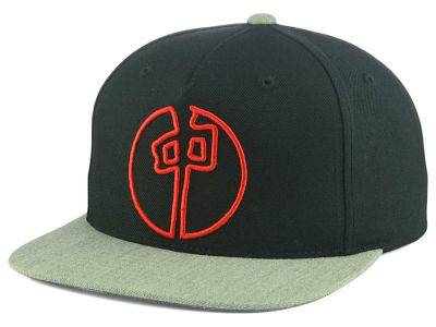 Red Dragon Skate Point Outline Snapback Hat
