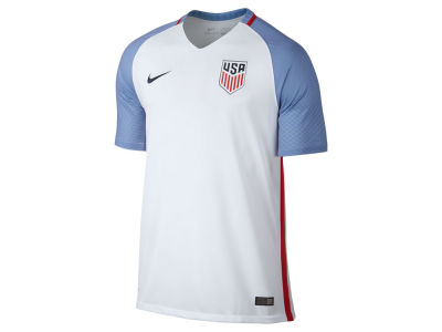 USA Nike MLS Men's 2016 National Team Home Stadium Soccer Jersey