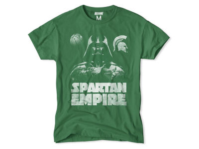 Michigan State Spartans NCAA Men's Darth Vader Empire T-Shirt