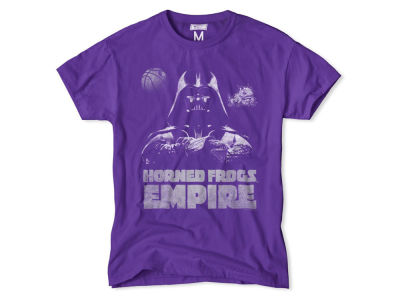 Texas Christian Horned Frogs NCAA Men's Darth Vader Empire T-Shirt