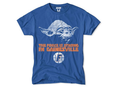 Florida Gators NCAA Men's Yoda Head Force is Strong T-Shirt