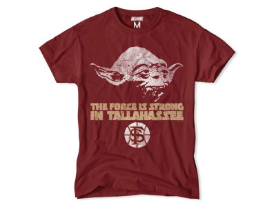 Florida State Seminoles NCAA Men's Yoda Head Force is Strong T-Shirt