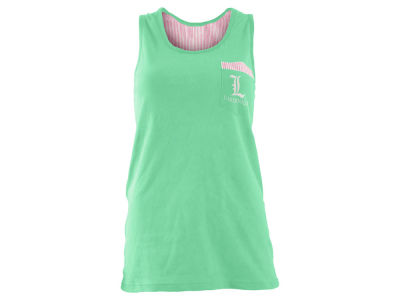 Louisville Cardinals Pressbox NCAA Women's Augusta Seersucker Back Tank