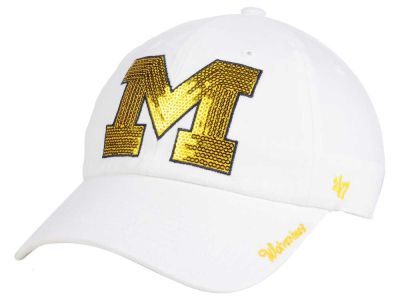 Michigan Wolverines '47 NCAA '47 Women's Sparkle Cap