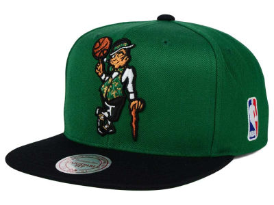 Boston Celtics Mitchell and Ness NBA XL Logo Snapback Cap