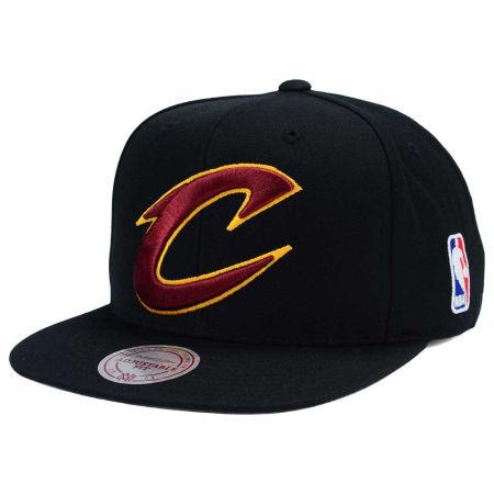 Cleveland Cavaliers Mitchell & Ness NBA XL Logo Snapback Cap