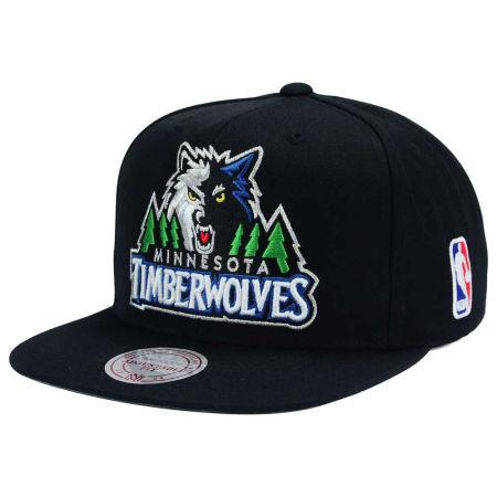 Minnesota Timberwolves Mitchell & Ness NBA XL Logo Snapback Cap