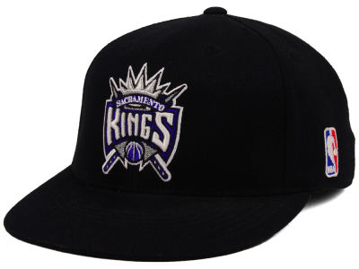 Sacramento Kings Mitchell and Ness NBA XL Logo Snapback Cap