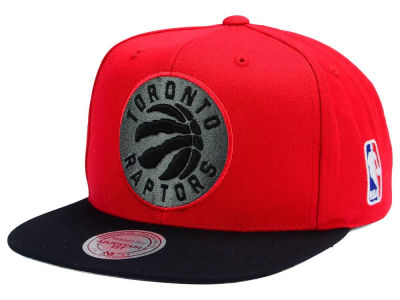 Toronto Raptors Mitchell and Ness NBA XL Logo Snapback Cap