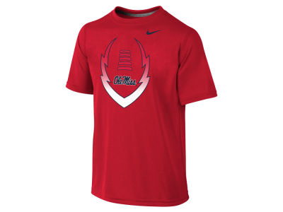 Ole Miss Rebels NCAA Youth Legend Football Icon T-Shirt