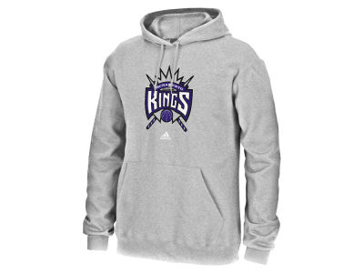 Sacramento Kings adidas NBA Men's Logo Set Hoodie