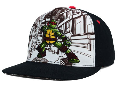 Teenage Mutant Ninja Turtles Cityscape Snapback Hat