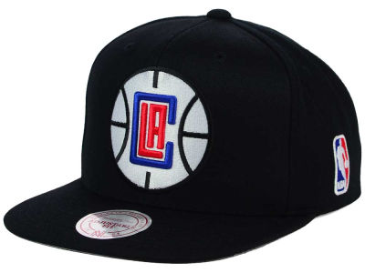 Los Angeles Clippers Mitchell & Ness NBA XL Logo Snapback Cap