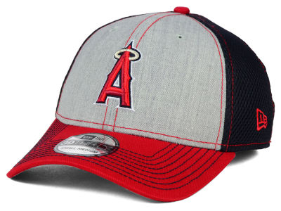 Los Angeles Angels New Era MLB Heathered Neo 39THIRTY Cap