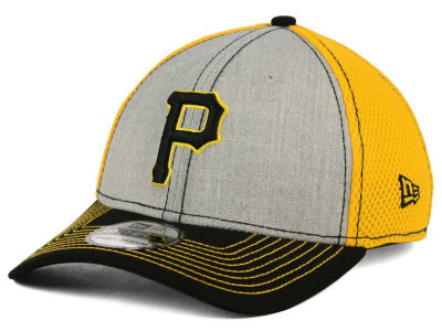 Pittsburgh Pirates New Era MLB Heathered Neo 39THIRTY Cap