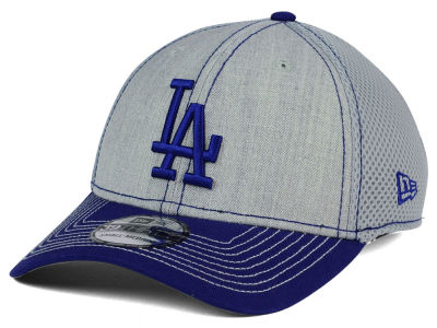 Los Angeles Dodgers New Era MLB Heathered Neo 39THIRTY Cap
