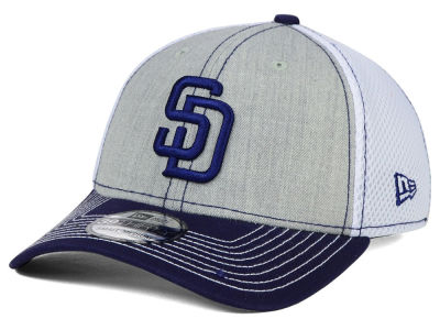 San Diego Padres New Era MLB Heathered Neo 39THIRTY Cap