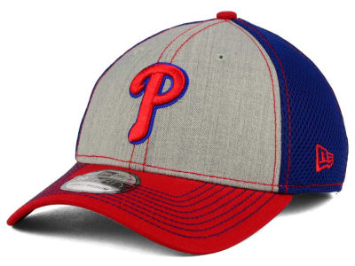 Philadelphia Phillies New Era MLB Heathered Neo 39THIRTY Cap