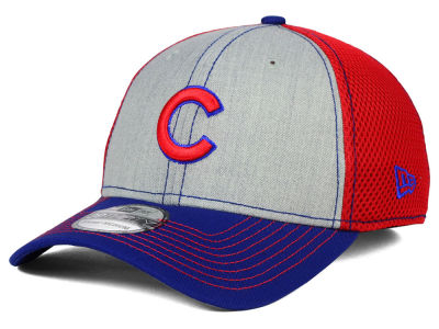 Chicago Cubs New Era MLB Heathered Neo 39THIRTY Cap