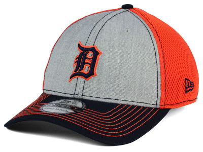 Detroit Tigers New Era MLB Heathered Neo 39THIRTY Cap