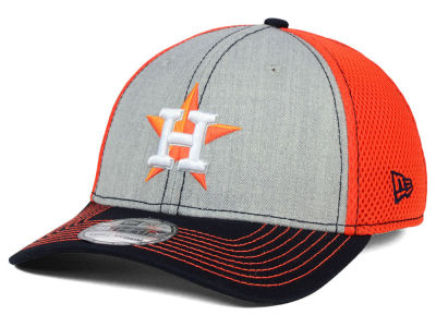 Houston Astros New Era MLB Heathered Neo 39THIRTY Cap