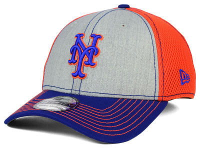 New York Mets New Era MLB Heathered Neo 39THIRTY Cap