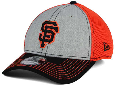 San Francisco Giants New Era MLB Heathered Neo 39THIRTY Cap