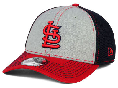 St. Louis Cardinals New Era MLB Heathered Neo 39THIRTY Cap