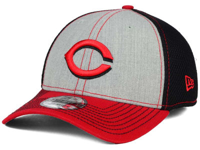Cincinnati Reds New Era MLB Heathered Neo 39THIRTY Cap