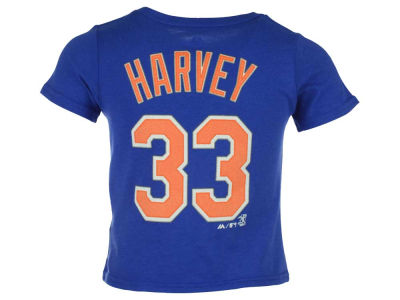 New York Mets Matt Harvey Majestic MLB Infant Official Player T-Shirt