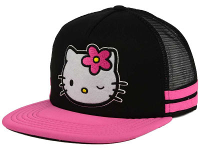 Hello Kitty Face Snapback Cap
