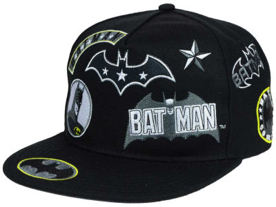 Batman DC Comics Patchwork Snapback Hat