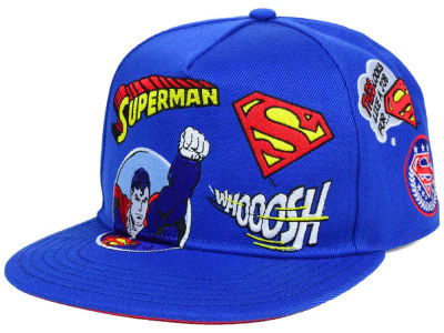 Superman DC Comics Patchwork Snapback Hat