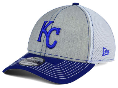 Kansas City Royals New Era MLB Heathered Neo 39THIRTY Cap