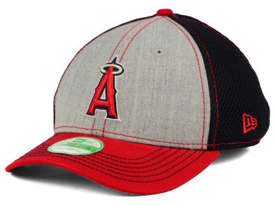 Los Angeles Angels New Era MLB Youth Heathered Neo 39THIRTY Cap