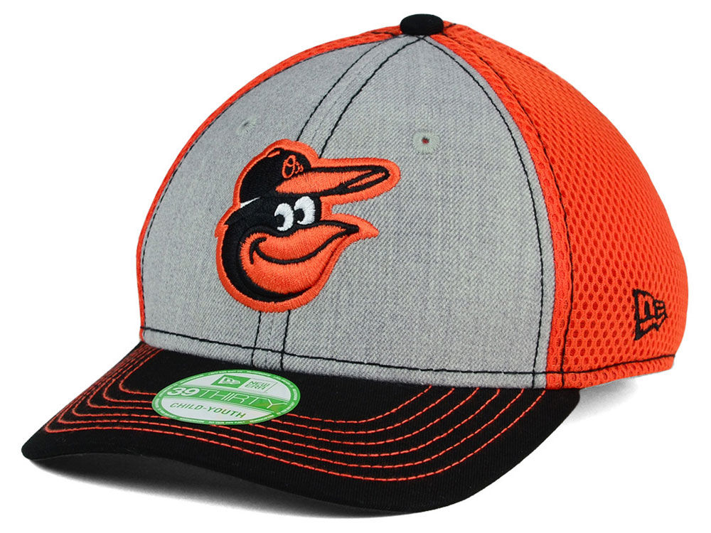 promo code 9fdc7 33730 ... best price baltimore orioles new era mlb youth heathered neo 39thirty  cap f0a10 0ba4d