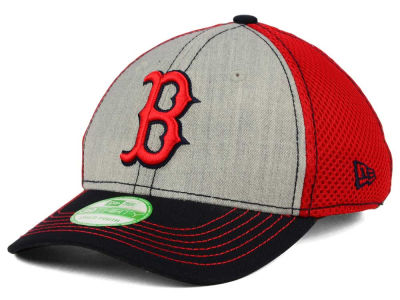 Boston Red Sox New Era MLB Youth Heathered Neo 39THIRTY Cap
