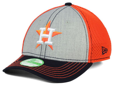 Houston Astros New Era MLB Youth Heathered Neo 39THIRTY Cap