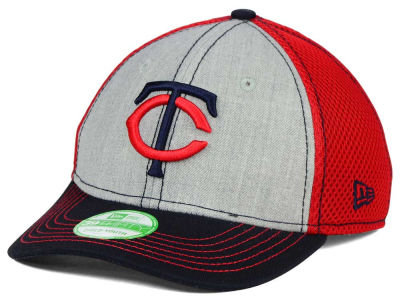 Minnesota Twins New Era MLB Youth Heathered Neo 39THIRTY Cap