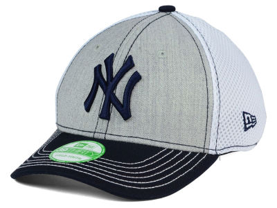 New York Yankees New Era MLB Youth Heathered Neo 39THIRTY Cap