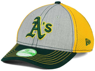 Oakland Athletics New Era MLB Youth Heathered Neo 39THIRTY Cap