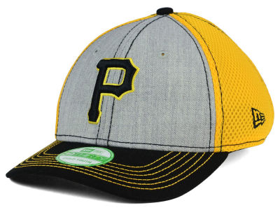 Pittsburgh Pirates New Era MLB Youth Heathered Neo 39THIRTY Cap