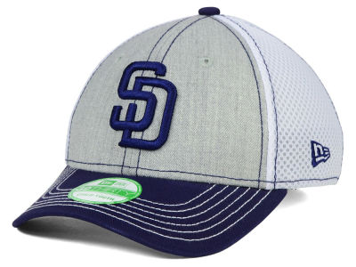 San Diego Padres New Era MLB Youth Heathered Neo 39THIRTY Cap